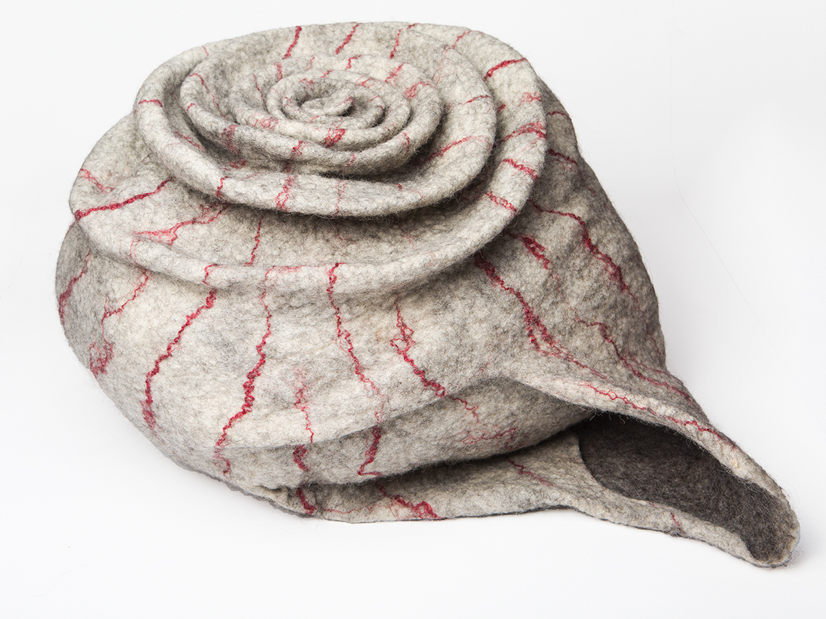 felt snail cushion